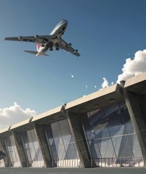 3-cü hava limanının iş binaları Karmod tərəfindən tamamlandı