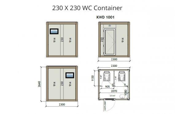 KW2 230X230 Tualet Konteyneri