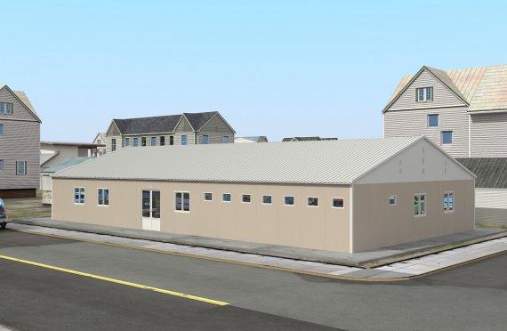 Modul Xəstəxana 275 m²