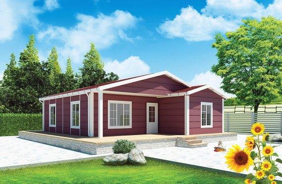 Prefabrik Ev 88 m²