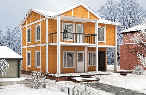 Prefabrik Ev 112 m²