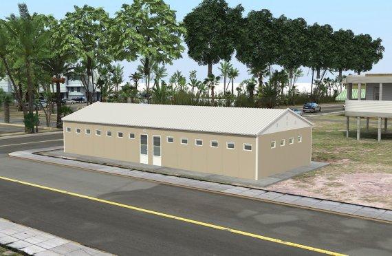 Prefabrik Tualet və Duş Binası 145 m²