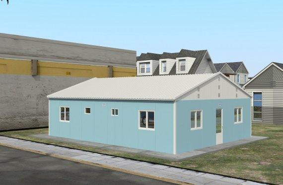 Modul Yaşayış Vahidi 102 m²