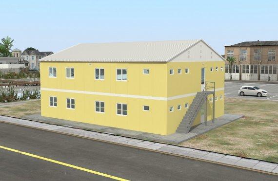 Modul Yaşayış Vahidi 348 m²