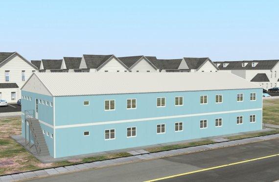 Modul Yaşayış Vahidi 736 m²