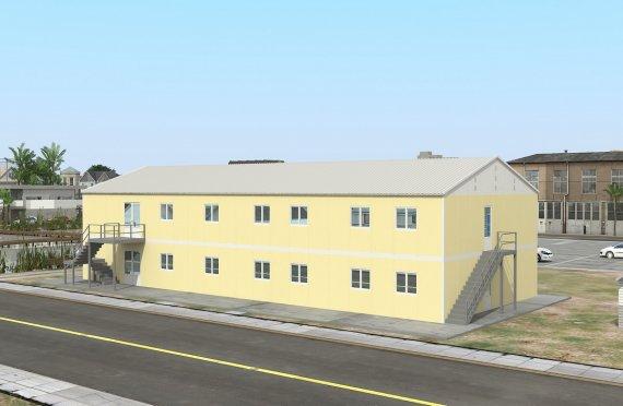 Prefabrik Ticari Mətbəx 576 m²