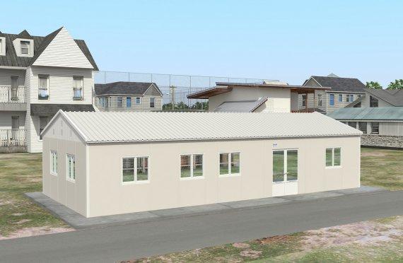 Prefabrik Ticari Mətbəx 98 m²