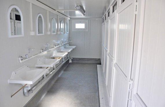 Tualet və Duş -Sanitariya Konteynerləri