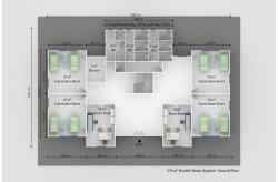 Prefabrik Səhiyyə Binalarının Planları